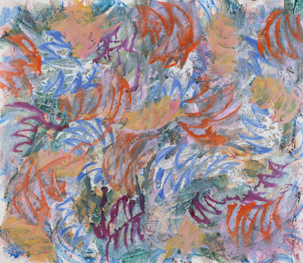 2011, 200 cm x 220 cm, Acryl auf Leinwand