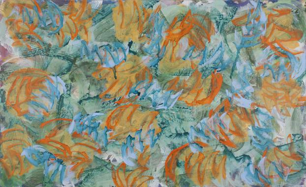 2011, 170 cm x 280 cm, Acryl auf Leinwand