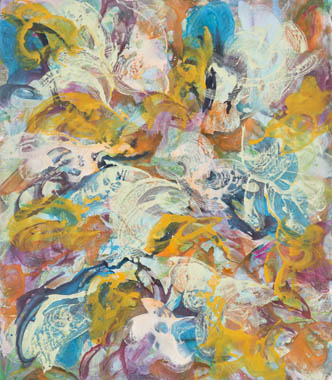 2013, 160 cm x 140 cm, Acryl auf Leinwand