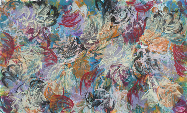 2013, 170 cm x 280 cm, Acryl auf Leinwand